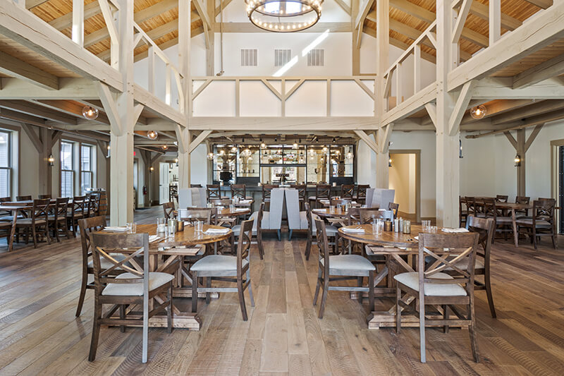 North Shore's New Restaurant: Grove at Briar Barn Inn