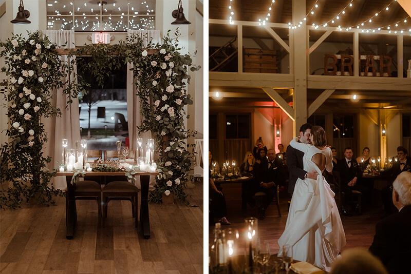 real wedding at briar barn inn
